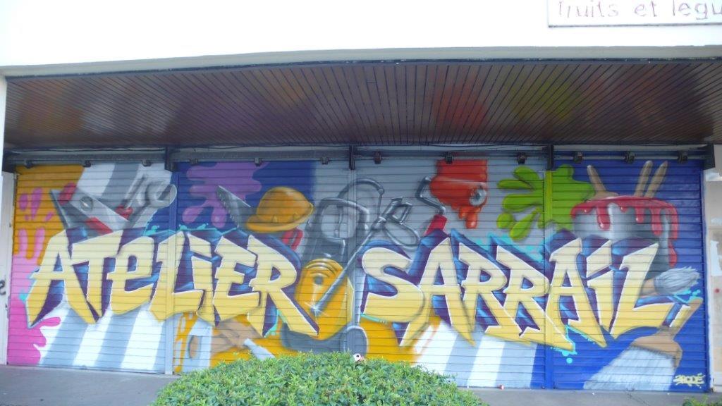 Decoration Exterieur Graffiti